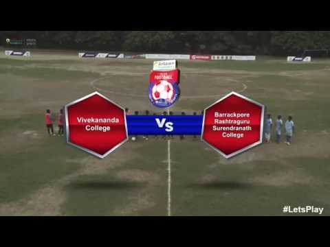 RFYS: Kolkata College Boys - Vivekananda Clg. vs Barrackpore Clg. Highlights