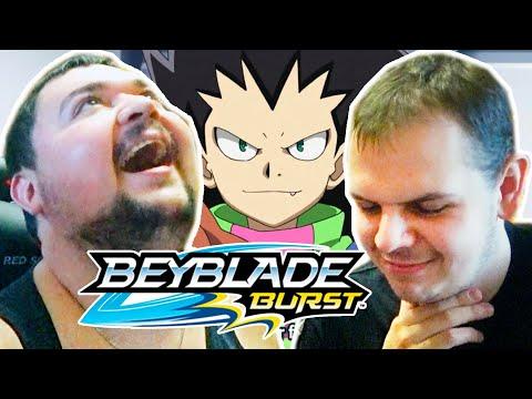Закупыч и Бейзон смотрят Бейблэйд Бёрст 1 сезон 2 серия / Beyblade Burst Реакция
