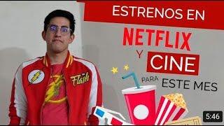 Series y películas de estreno en cine y Netflix