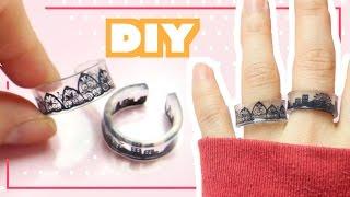 DIY Plastic Rings Tutorial | Shrink Dinks