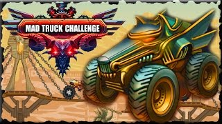 Mad Truck Challenge 3 Egypt Full Walkthrough (Gold Cup & Star)