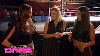Renee Young tells The Bella Twins about her new scooter: Total Divas Preview Clip, March 8, 2016