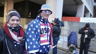Trump supporters flock to Washington for inauguration