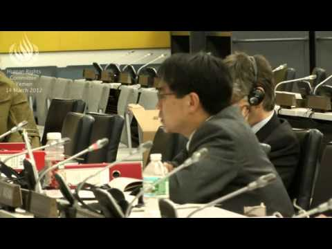 Human Rights Committee - 5th Review of Yemen- English Part I