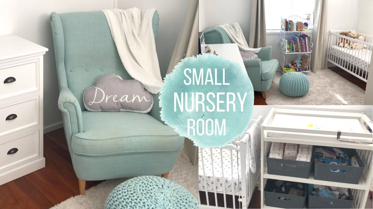 Baby Boy Nursery Tour: SMALL BABY BOY NURSERY ROOM TOUR 2018