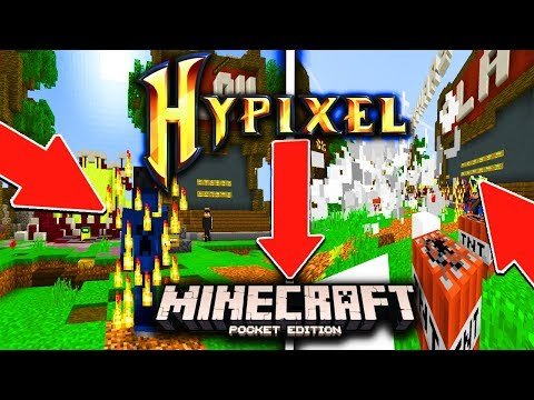 HYPIXEL IN MCPE?!? - Minecraft PE (Pocket Edition)
