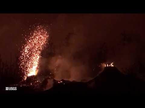 USGS Status Update of Kīlauea Volcano - May 26, 2018