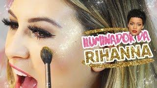 Testando FENTY BEAUTY by Rihanna ILUMINADORES BAPHOS