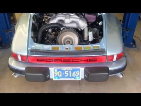 PMS PORSCHE 911 to 3.6L DME Engine Start Up & Idle