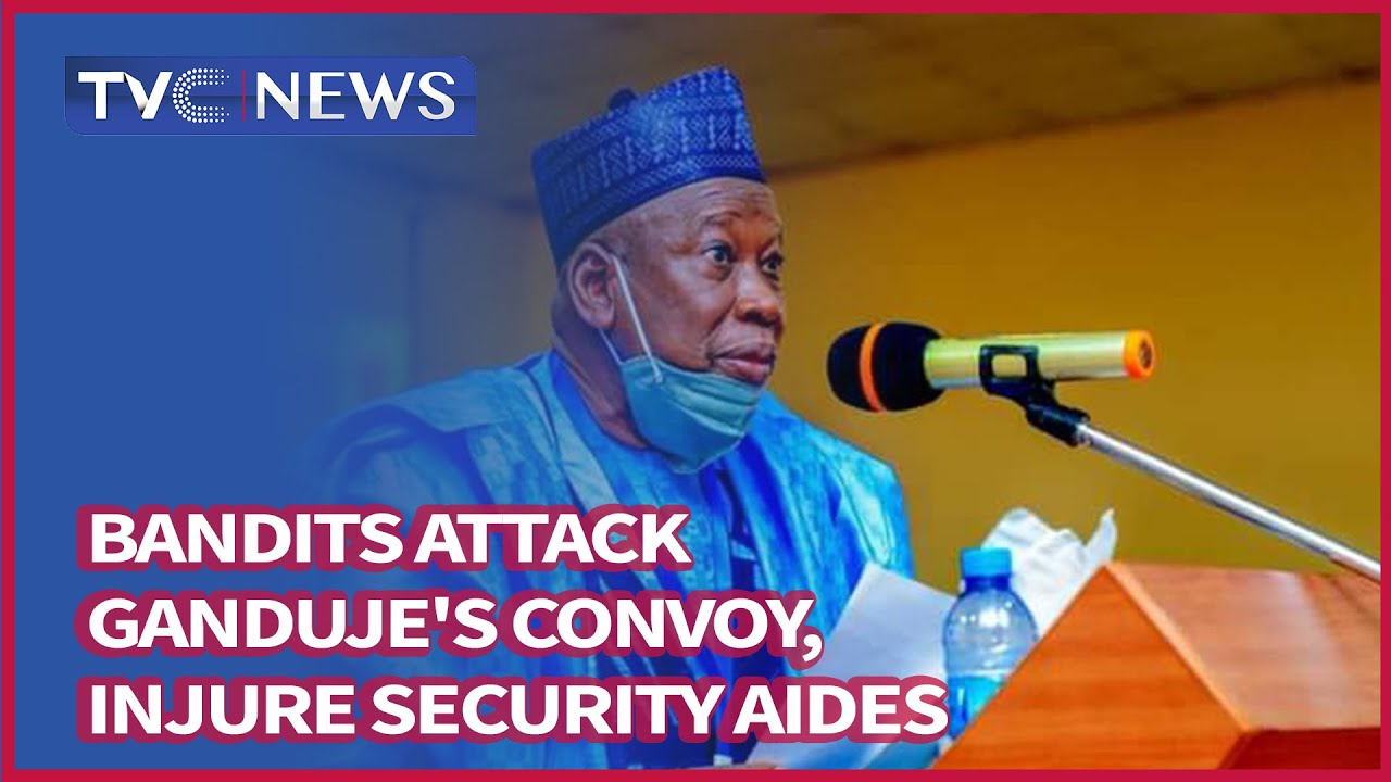 Download Bandits Attack Ganduje's Convoy, Injure Security Aides