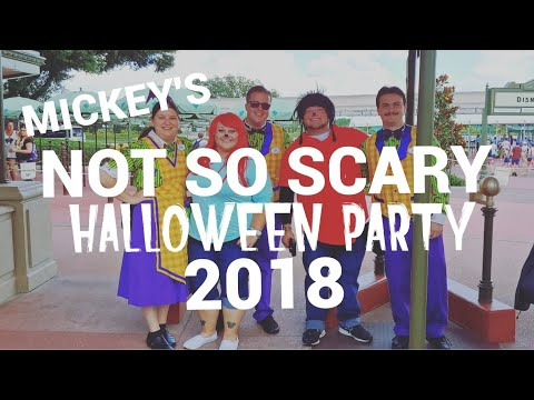 Mickey's Not So Scary Halloween party 2018 guide and tips