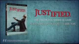 JUSTIFIED: SEASON 3 - Series Trailer - Out on DVD February 25th