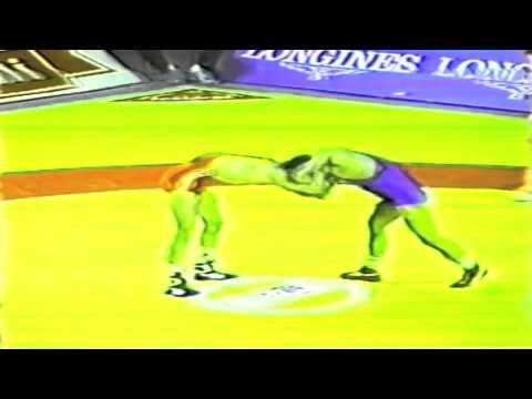 1989 Senior World Championships: 52 kg Vladimir Togusov (USSR) vs. Metin Topaktas (TUR)