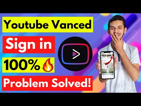 YouTube Vanced Sign In Problem Fixed 2021 🔥  Vanced Login Error Solution   How to install Micro G