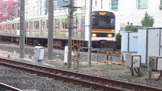 八高線209系3100番台発車