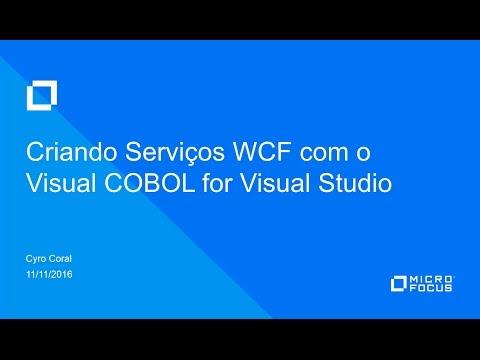 Criando Serviços WCF com o Visual COBOL for Visual Studio