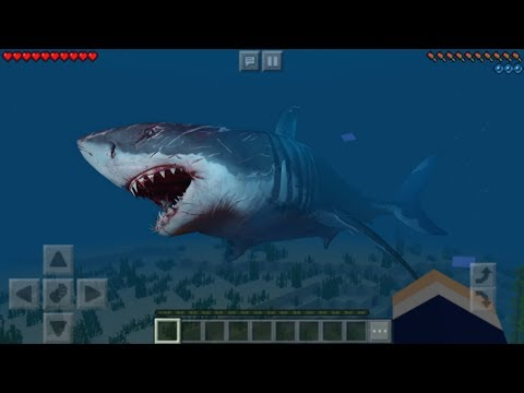 How To Spawn A MEGALODON In Minecraft PE 1.6+