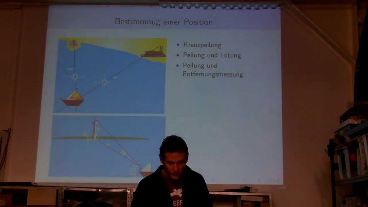 RaumZeitLabor: Don - Nautische Navigation in Küstennähe - YouTube