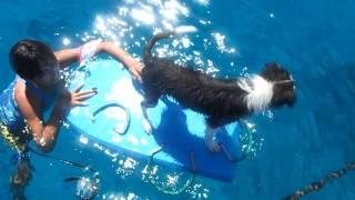 ボートには何度か乗ってるけど今日は 綺麗な沖縄・水納島の海に浮いてみ...