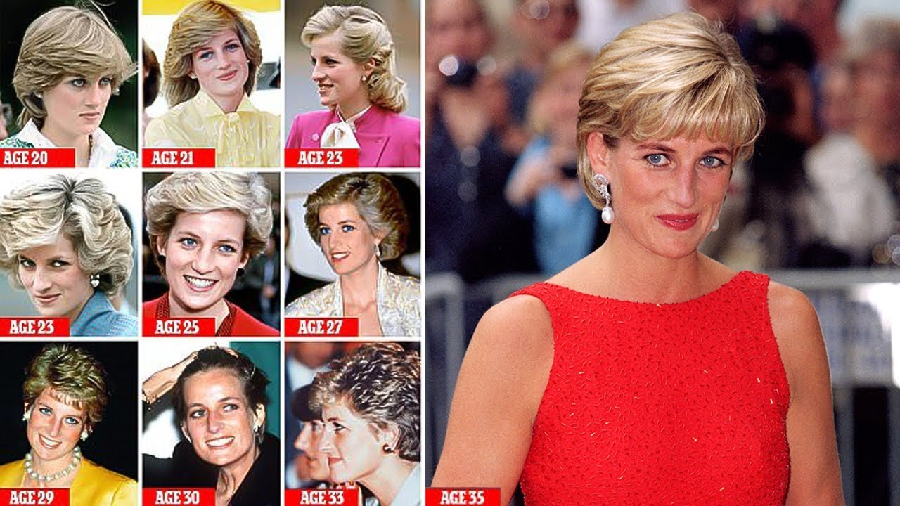 diana hairstyle that was her crowning glory, from shy di feather cut to sunkissed