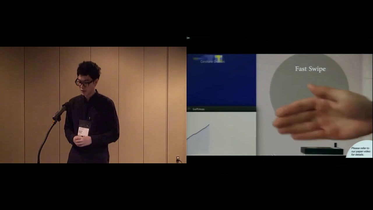 Interacting with Soli: Exploring Fine-Grained Dynamic Gesture Recognition  in the Radio-Frequency
