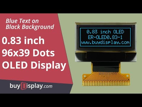"White 1/""Small OLED Display Module 128x32 I2C Arduino w//Connector FPC"