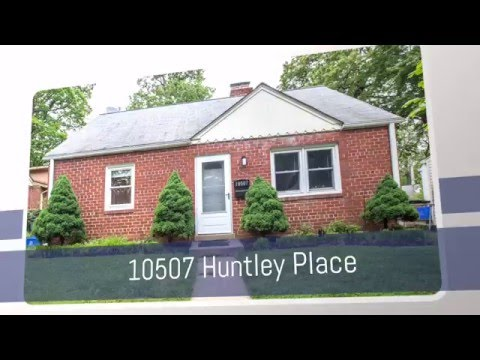 10507 Huntley Place House For Rent In Silver Spring MD