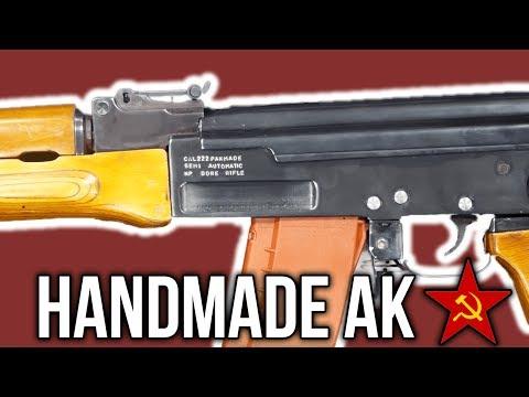 Handmade Kalashnikov AK Rifles