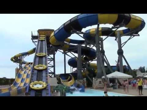 г.Анапа,  аквапарк Золотой Пляж 2015