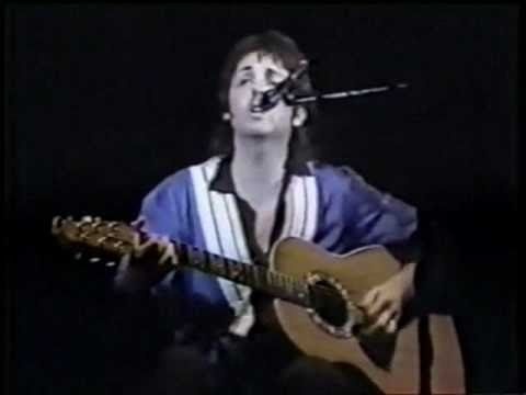 yesterday paul mccartney and wings australia 1975 highlights youtube. Black Bedroom Furniture Sets. Home Design Ideas