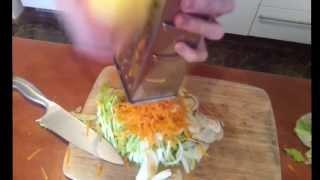 Running Cheff Овощной Салат видео рецепт