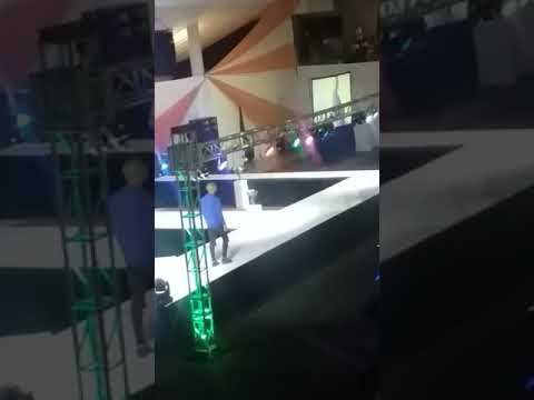 Naak Musiq performing at Mr & Miss Forte 2018