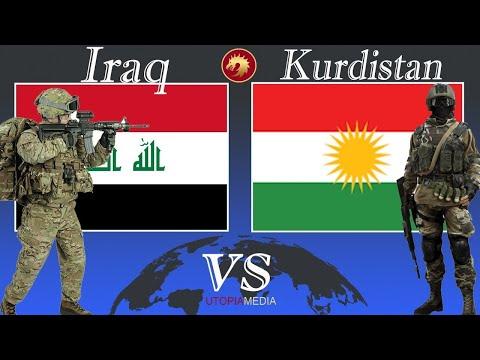KURDISTAN vs IRAQ military power comparison 2021