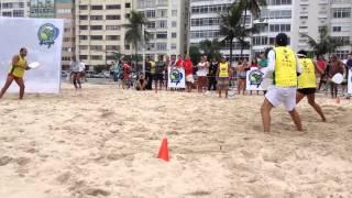 Frescobol F A P Trinca Copacabana 3º lugar Maio 2014 parte1