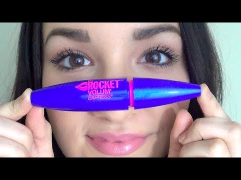 NEW The Rocket Maybelline Mascara First Impression/Demo