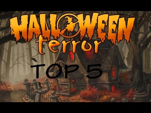 Top 5 Mapas De TERROR!! // Halloween | Minecraft - ErlaitzOMG 1.6.4 Videos De Viajes