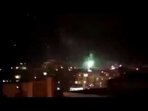 New Year 2018 In Karachi Insane Firing | Not Fireworks