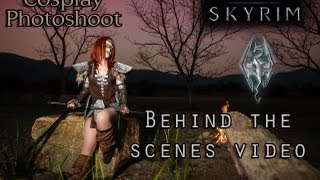 Skyrim Cosplay Photoshoot  - Aela the Huntress - Behind the Scenes