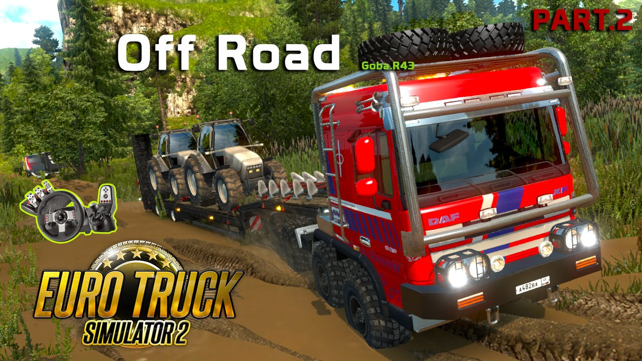 euro truck simulator 2 off road mapa goba r43 g27 2. Black Bedroom Furniture Sets. Home Design Ideas