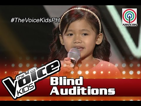"""The Voice Kids Philippines 2016 Blind Auditions: """"Music And Me"""" By Claire"""