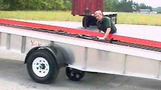 Yard King's Mobile Yard Ramp With High Speed Tow Package