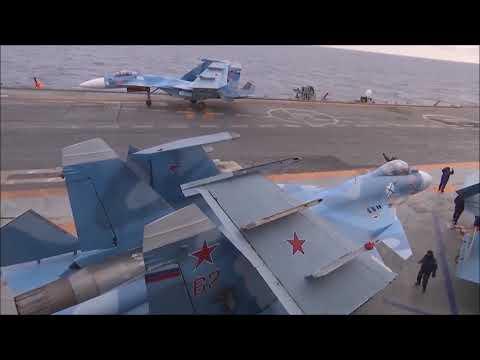 Admiral Kuznetsov's Su-33, MIG-29K And Ka-27 Freezing.