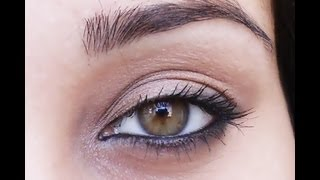 ✌ Classic Indian kohl eyes makeup tutorial ✌
