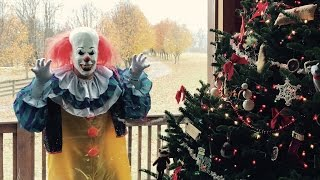the creepy killer clown is back and this time he crossed the line new skit