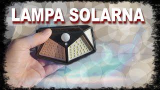 🛠 Technologia u Szkapy: LAMPA SOLARNA Z CZUJNIKIEM RUCHU ZMIERZCHU 100 LED
