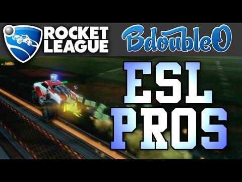Rocket League :: Facing REAL Pros!
