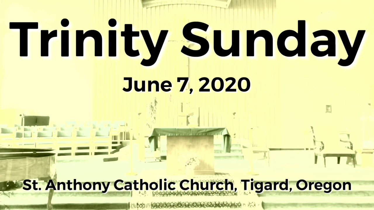 Trinity Sunday_June 7, 2020