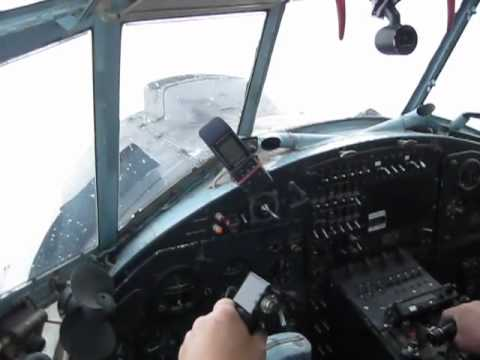 An-2 Climb for parashute dropping