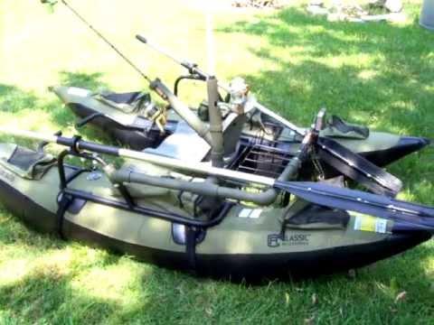 Colorado pontoon fishing rod holder improved youtube for Fishing rod holders for pontoon boats