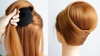 New Juda Hairstyle For Lehenga Easy Hairstyle With Gown For Wedding Hairstyle Girls Simple